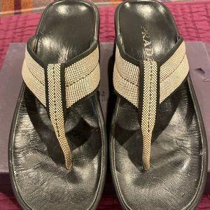 Vintage Prada Sandals  9 1/2